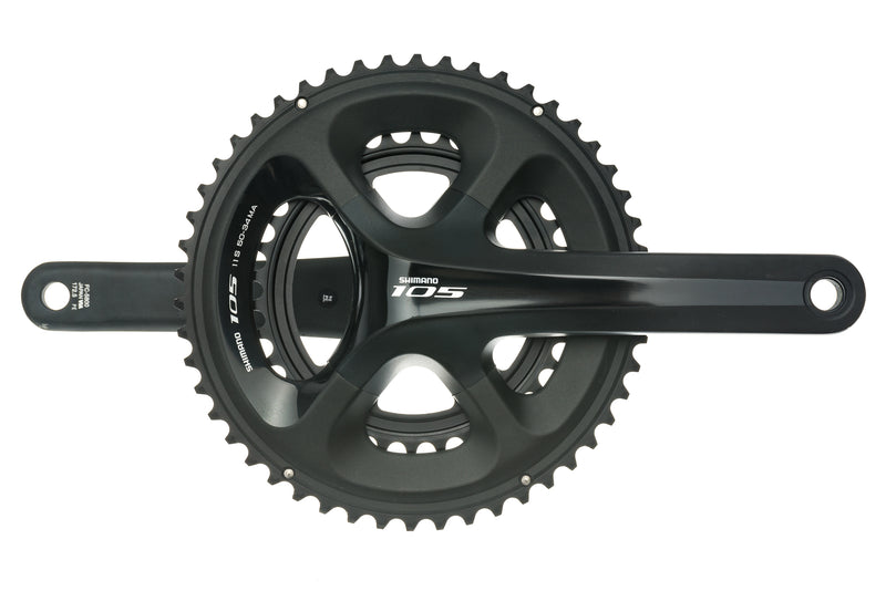 Shimano 105 FC-5800 Crankset 11 Speed 172.5mm 50/34T 110mm BCD drive side