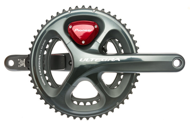 Pioneer Shimano Ultegra 6800 Dual Leg Power Meter Crank Set 170mm - Pre-Owned drive side