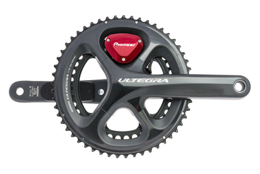 Pioneer Shimano Ultegra FC-6800 Dual Leg Power Meter Crank Set 11 Speed 172.5mm 53/39T Hollowtech II 110mm BCD - Pre-Owned