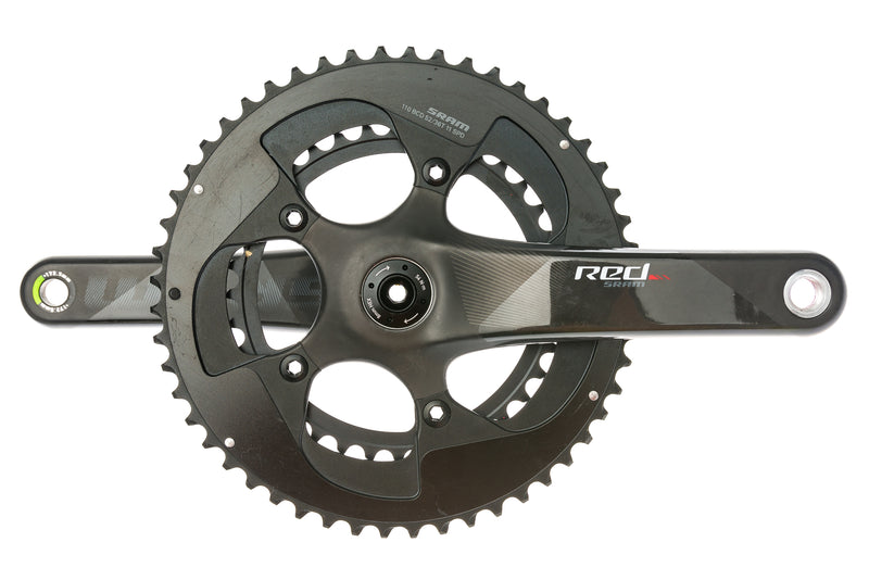 SRAM Red Crank Set 11 Speed 172.5mm 52/36T 110mm BCD BB30 drive side