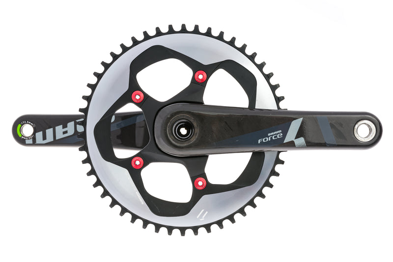 SRAM Force 1 Crankset 11 Speed 172.5mm 50T 110mm BCD GXP drive side