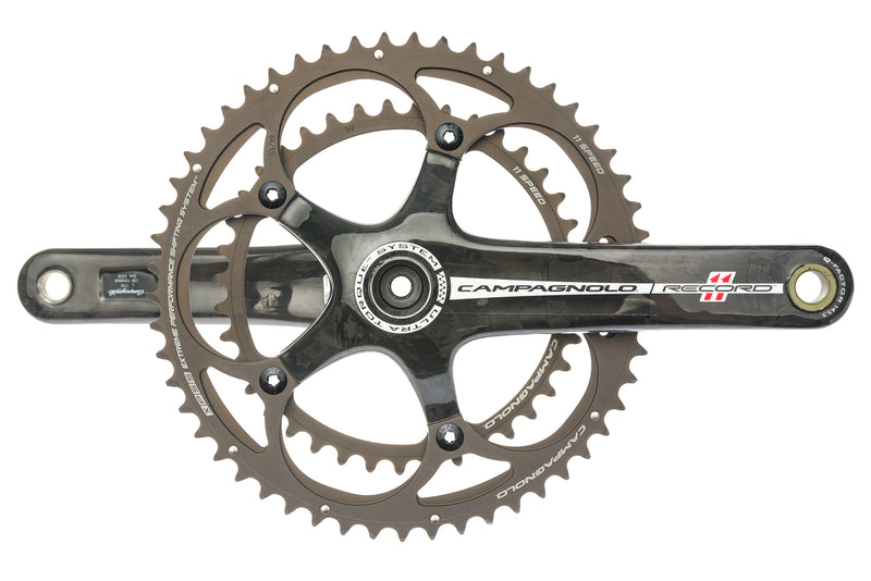 Campagnolo Record 11 Crank Set 11 Speed 170mm 53/39T Ultra-Torque 135mm BCD drive side
