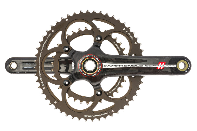 Campagnolo Comp Ultra Crank Set 11 Speed 170mm 52/36T Over Torque drive side