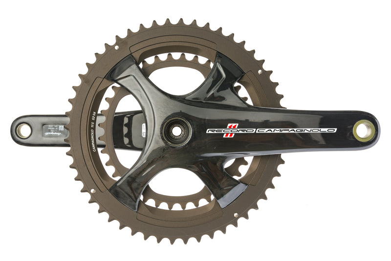 Campagnolo Record 11 Crankset 11 Speed 170mm 52/36T 110mm BCD drive side
