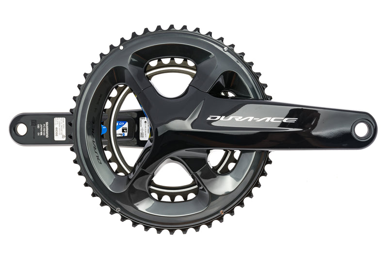 Stages Dura-Ace FC-9100 / SPM1 Power Meter Crankset 11 Speed 180mm 50/34T 110mm BCD drive side