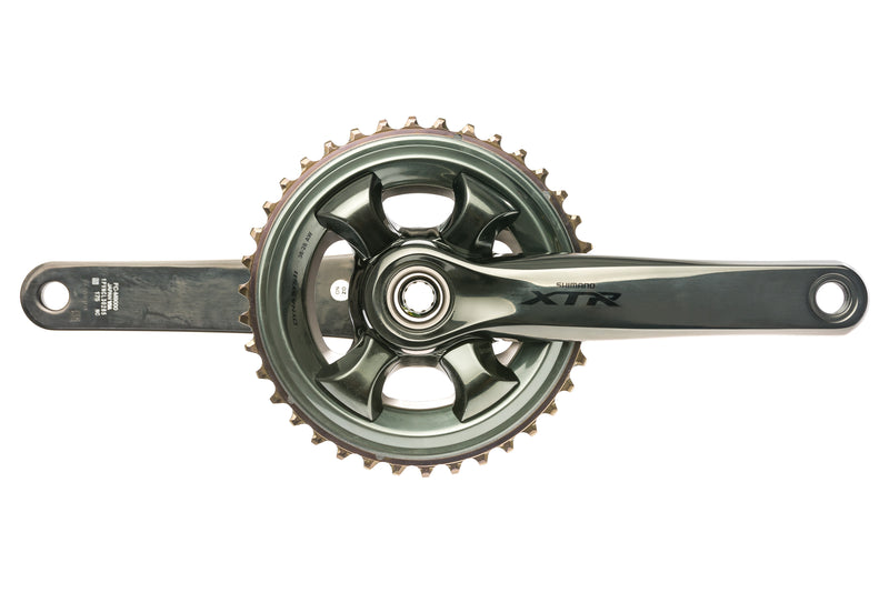 Shimano XTR FC-M9000 Crank Set 11 Speed 175mm 38/28T 96mm BCD drive side