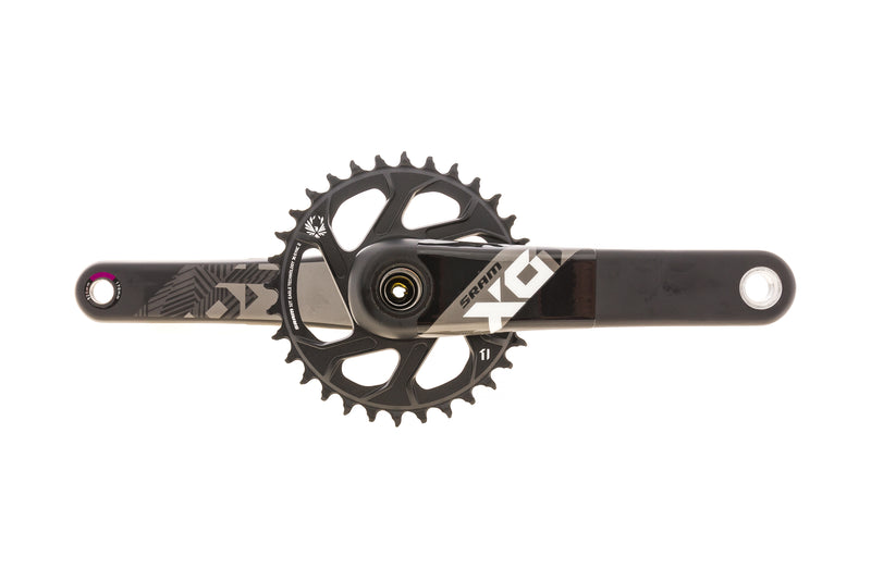 SRAM X01 Eagle Crank Set 12 Speed 170mm 32t GXP Boost drive side