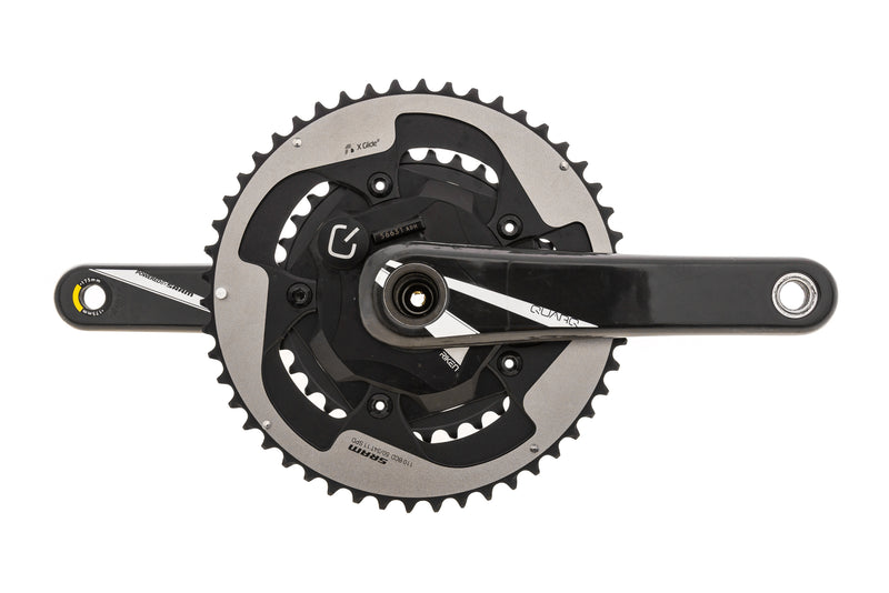 Quarq Riken Power Meter Crankset 11 Speed 175mm 50/34T 110 BCD GXP drive side