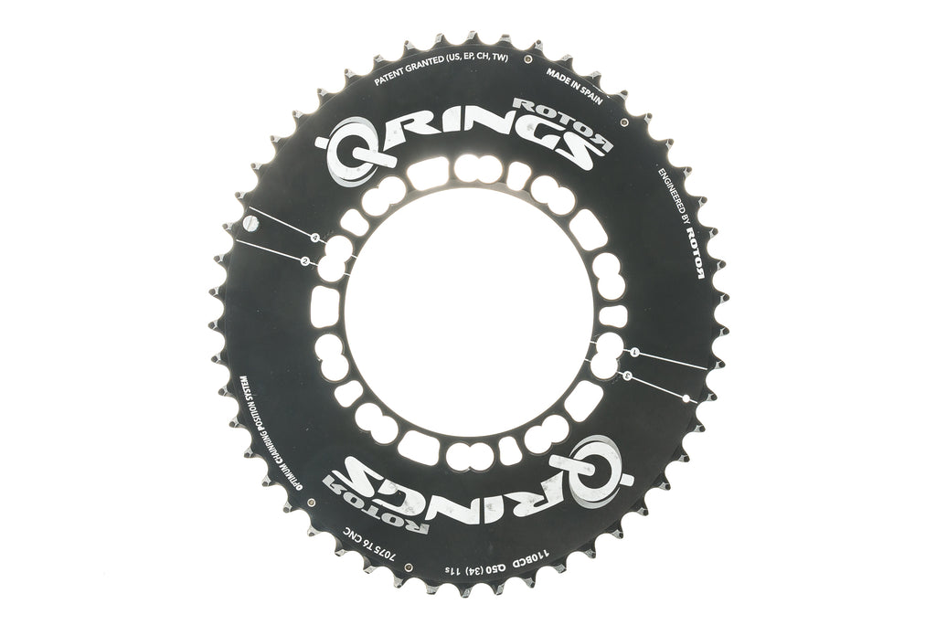 Rotor Q-Ring Oval Chainring 50T 11 Speed 110mm BCD - Pre-Owned