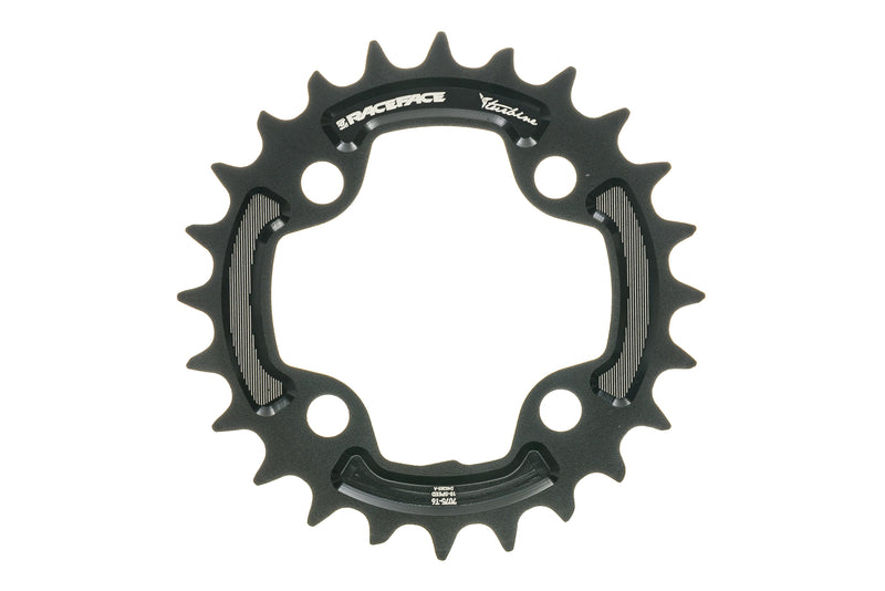 Race Face Turbine Chainring 24T 10 Speed 64mm BCD drive side