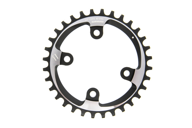 SRAM Eagle X-Sync 2 Chainring 12 Speed 34T 3mm Offset Direct Mount drive side