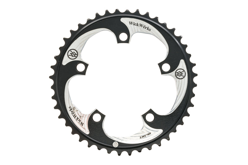 WickWerks 44T Chainring 10/11 Speed 110mm BCD drive side