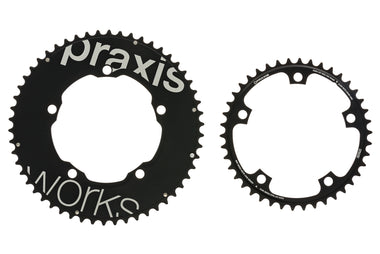 Praxis Works Aero Time Trial Chainring Set 54/42 11 Speed 130mm BCD