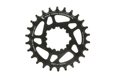 Wolf Tooth Drop-Stop Chainring 10/11/12 Speed 26T Direct Mount BB30 - Pre-Owned
