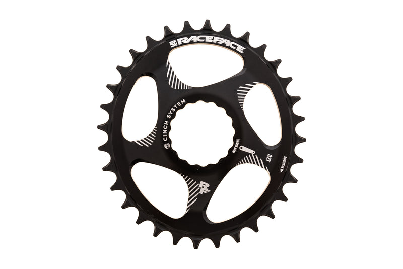 Race Face DM Oval Chainring 32T 10-12 Speed Cinch Direct Mount drive side