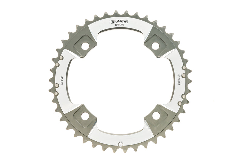 TruVativ XX X-Glide Chainring 42T 10 Speed 120mm BCD C-Pin drive side