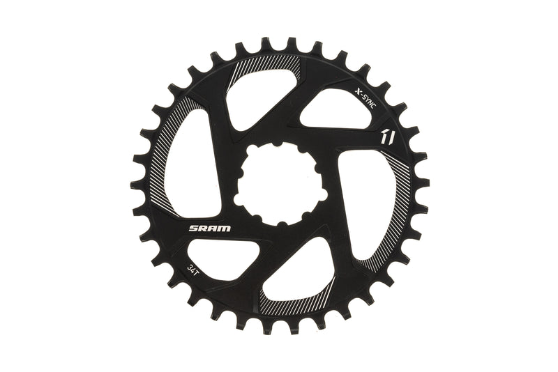 SRAM X-Sync Chainring 34T 11 Speed 0mm Offset Direct Mount drive side