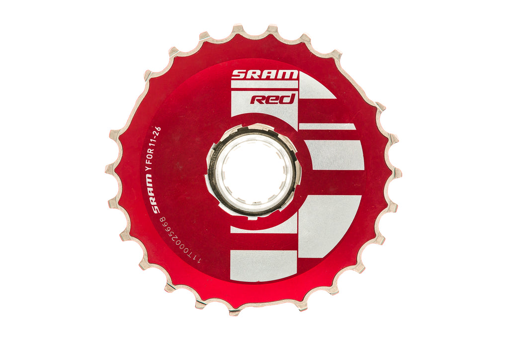 SRAM Red OG 1099 Cassette 10 Speed 11-26T - Pre-Owned