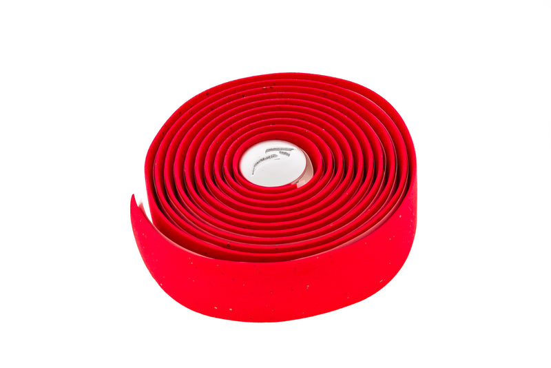 Specialized S-Wrap Cork Bar Tape Red drive side