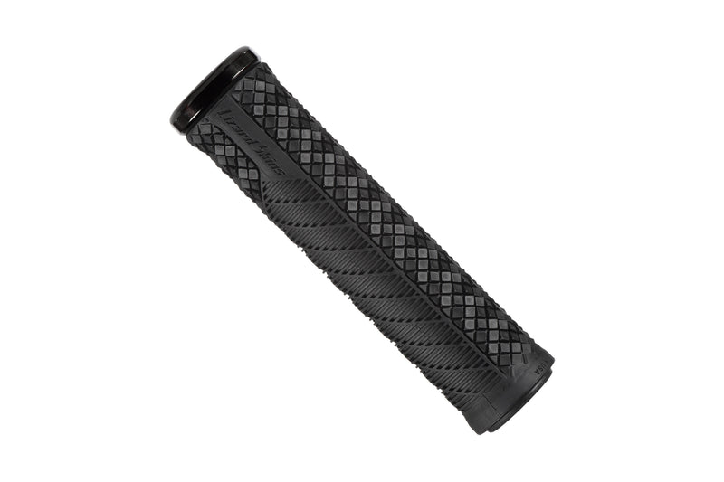 Lizard Skins Charger Evo Single-Sided Lock-On Grips Jet Black drive side