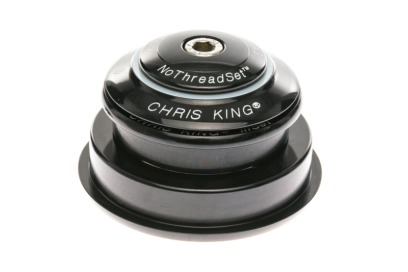 "Chris King InSet 2 Headset 1-1/8-1.5"" Tapered Black drive side"
