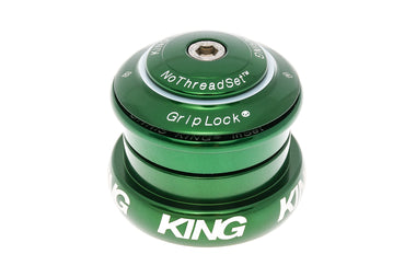 "Chris King InSet 8 Headset 1 1/8"" - 1 1/4"" ZS44/28.6 Green"
