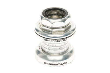 "Shimano HP-6500 Headset Threaded 1"" Silver 26.4mm Crown Race - Pre-Owned"
