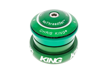 2018 Chris King INSET 1-1/8-1.25 EXTERNAL Original King Green Headset