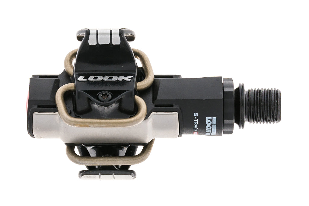 Look S-Track Race Pedals Clipless Black/Silver drive side