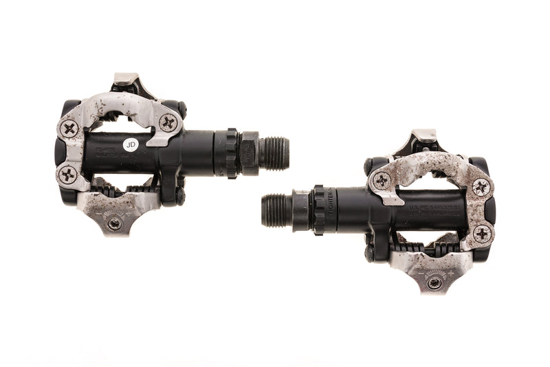 Shimano PD-M520 Pedals Clipless Black / Silver drive side