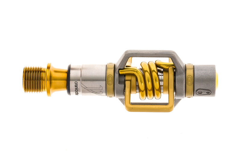 Crank Brothers Eggbeater 11 Pedals Clipless Titanium Gold non-drive side