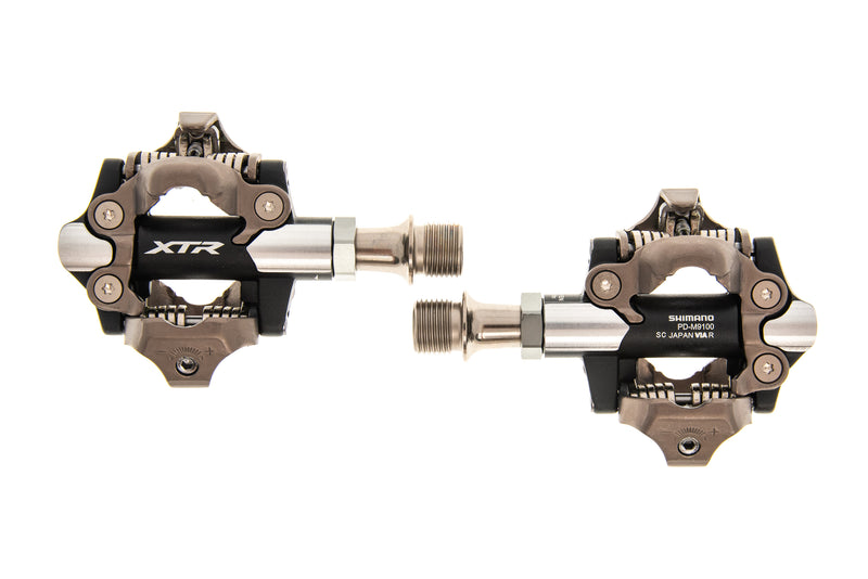 Shimano XTR PD-M9100 Pedals Clipless Silver drive side