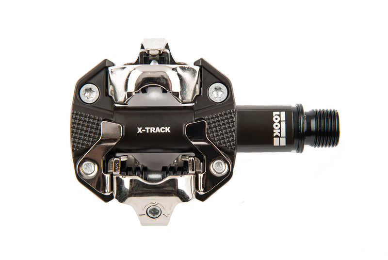 Look X-Track Mountain Bike Pedals Dark Grey non-drive side