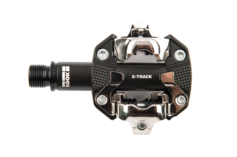 Look X-Track Mountain Bike Pedals Dark Grey drive side