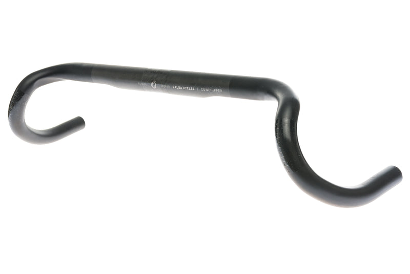 Salsa Cowchipper Handlebar 31.8mm x 44cm Carbon Black drive side