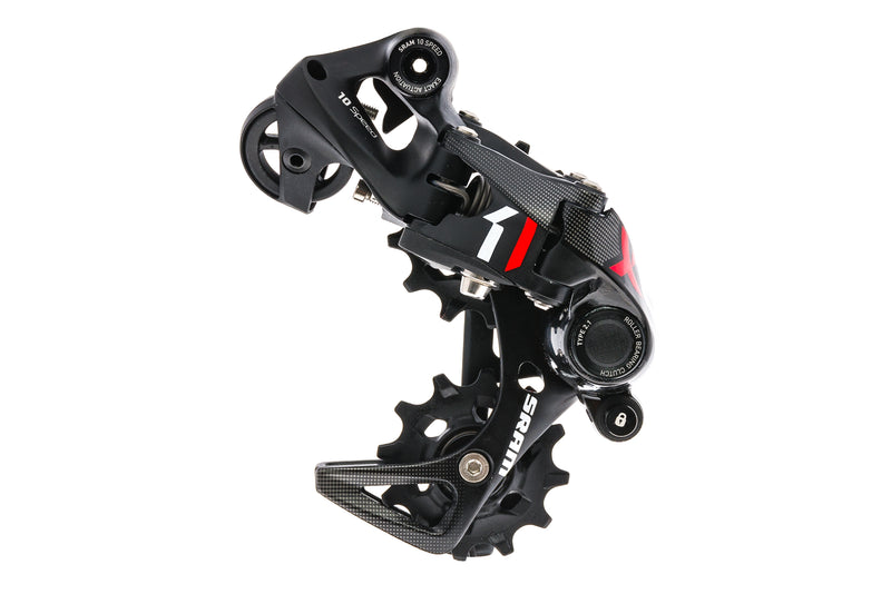 SRAM X01 DH Rear Derailleur 10 Speed Short Cage Type 2.1 Red drive side