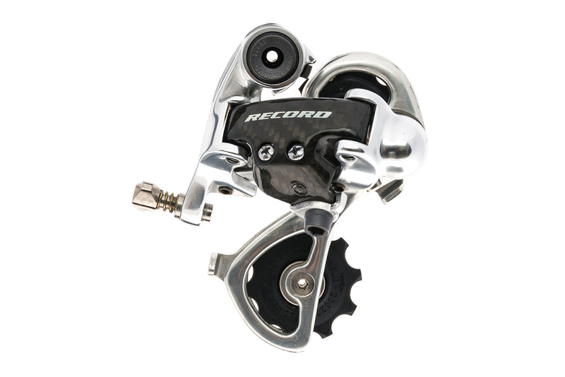 Campagnolo Record Carbon Rear Derailleur 10 Speed Short Cage drive side