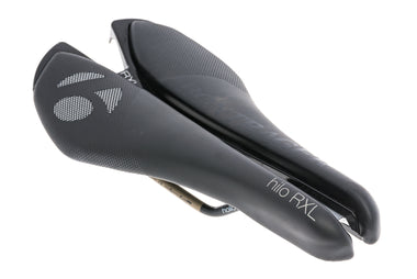 Bontrager Hilo RXL Triathlon Saddle 140mm Hollow Ti Rails Black - Pre-Owned