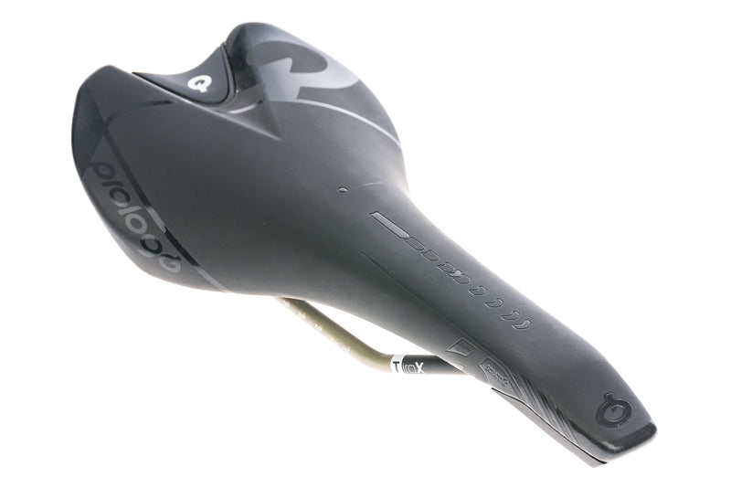Prologo Scratch 2 Saddle 143mm Tirox Rails Black drive side