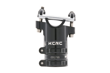 KCNC Majestic ISP Aluminum Seat Topper Clamp 34.9mm Clamp 50mm Zero Offset Black