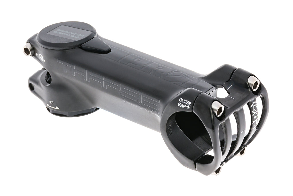 PRO Tharsis XC Aluminum Stem 31.8mm Clamp 100mm 6 Degree Black