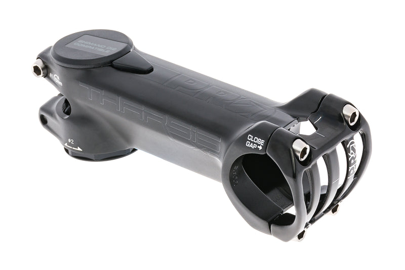 PRO Tharsis XC Aluminum Stem 31.8mm Clamp 100mm 6 Degree Black drive side