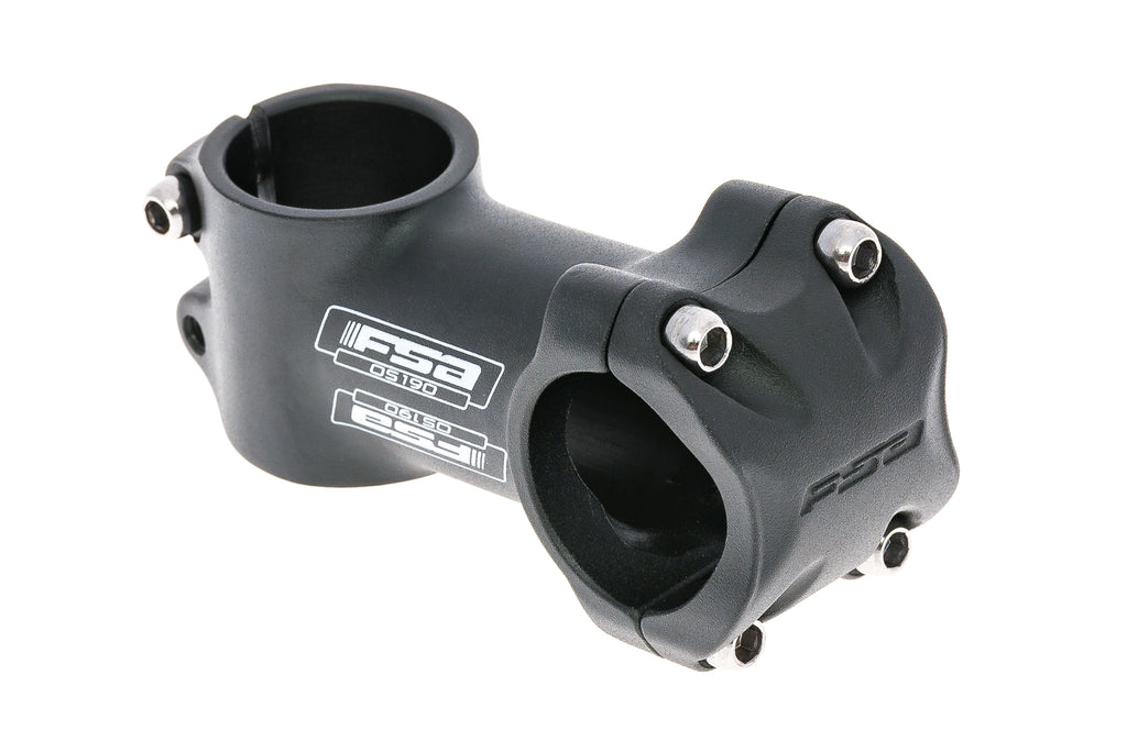 FSA OS-190 Stem 31.8 x 70mm 6 Degree Aluminum Black