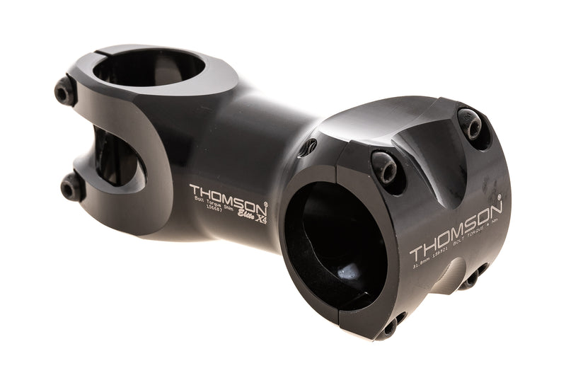Thomson Elite X4 SM-157 Alloy Stem 31.8mm Clamp 80mm 0 Degree Black drive side