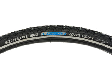 Schwalbe Marathon Winter Tire 700 x 35C Clincher Black Studded Wire Bead