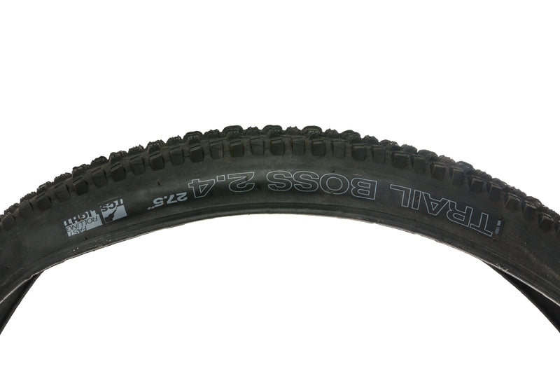 "WTB Trail Boss TCS Tire 27.5x2.4"" 60 TPI Tubeless Light Fast Rolling drive side"