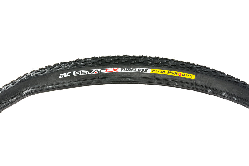 IRC Serac CX Tire 700x32c 182 TPI Tubeless drive side