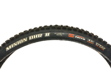 "Maxxis Minion DHR II Tire 27.5x2.4"" 60 TPI Tubeless EXO Protection - Pre-Owned"