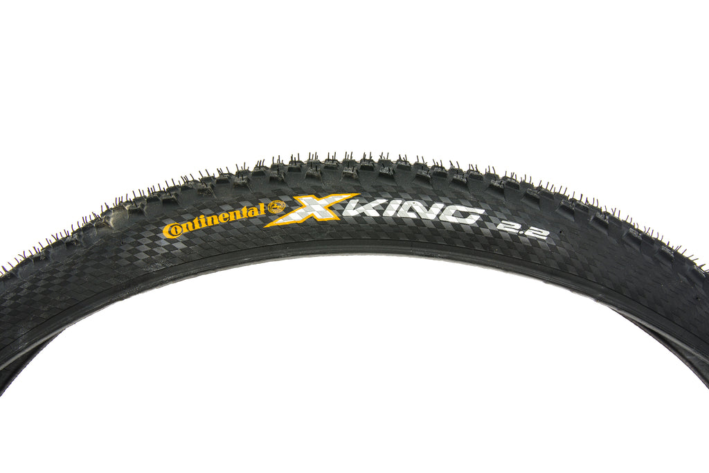 "Continental X-King ProTection Tire 27.5x2.2"" 240 TPI Tubeless drive side"