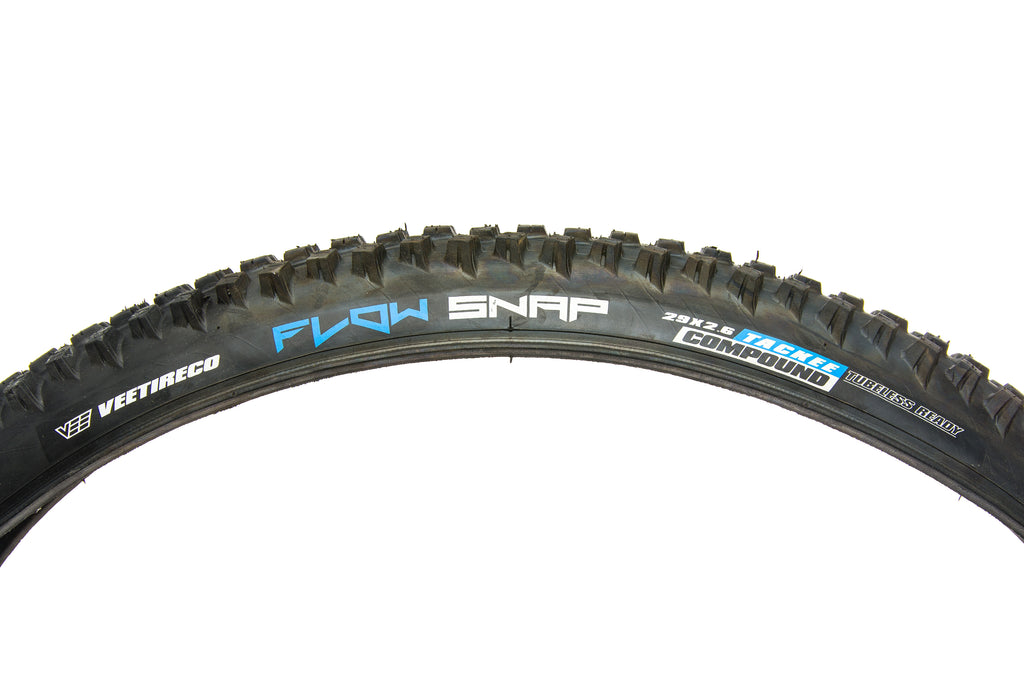 """x 2.6/"""" 72tpi Tubeless Ready Tackee Compound, Flow Snap Tire 27.5 Vee Tire Co"""